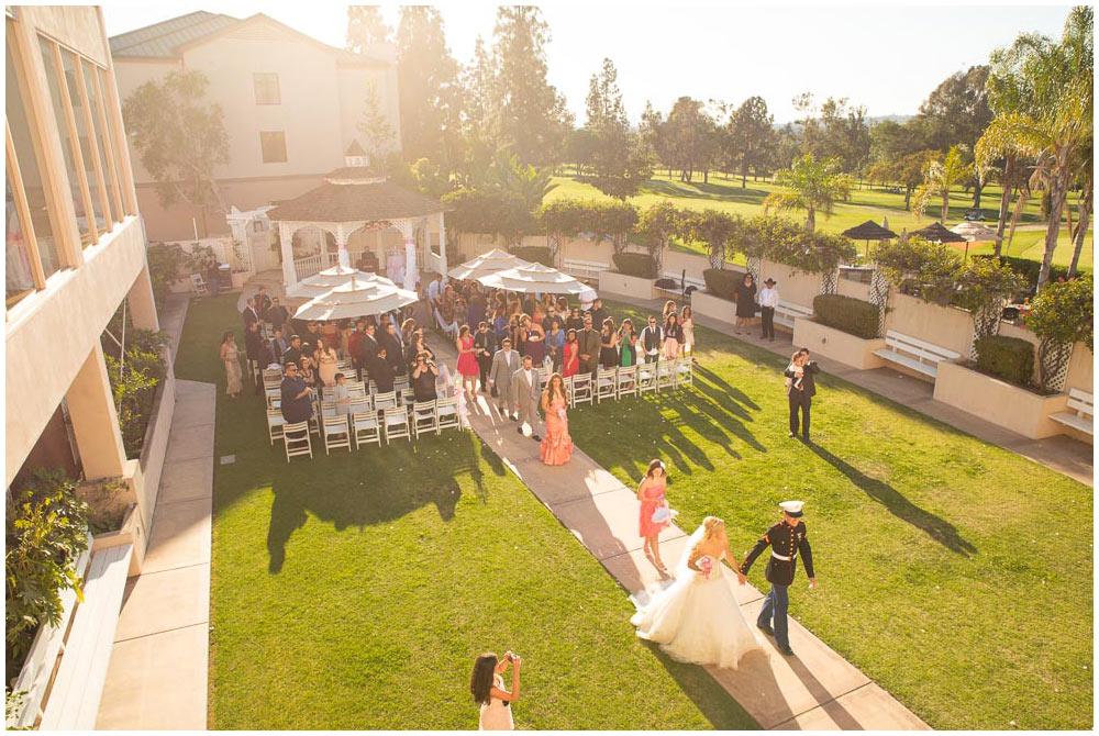 Gazebo Wedding in Los Angeles